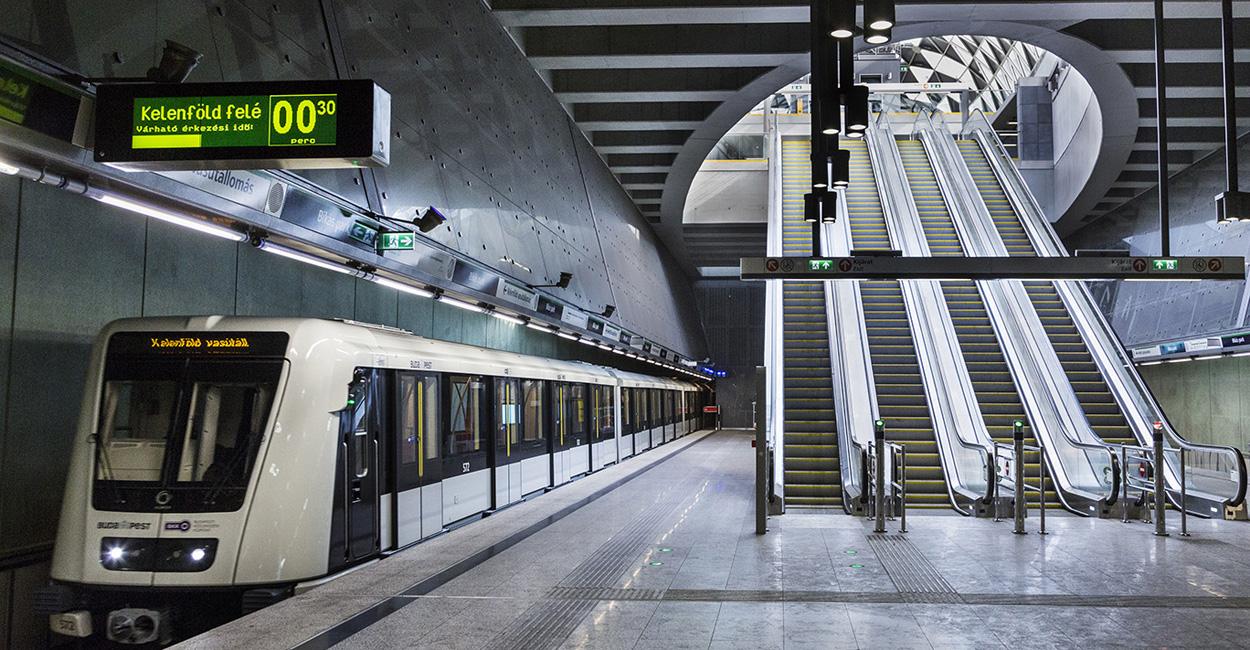 U-Bahnlinie 4 Budapest