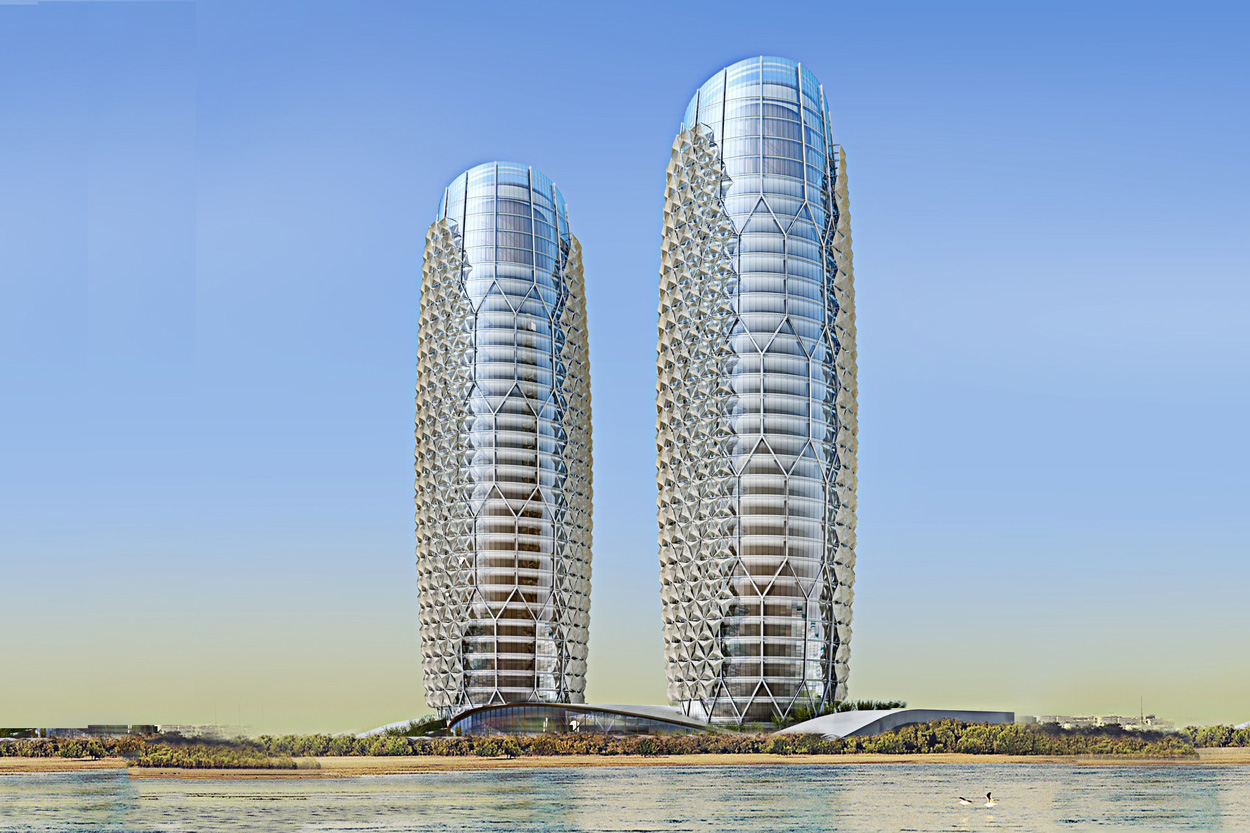 Al Bahr Towers, Abu Dhabi