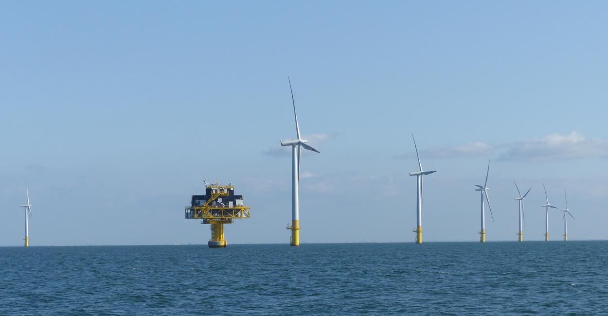 Offshore Windparks Ostsee und Nordsee