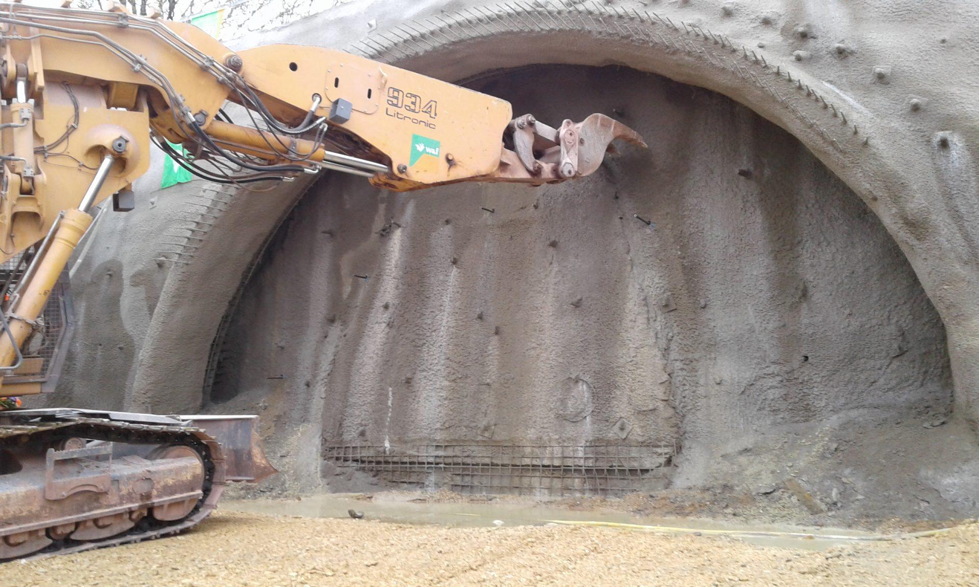 Tunnelbau Vötting, Freising